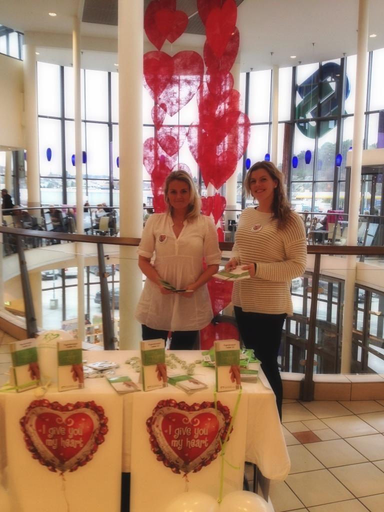 I give you my heart - Valentines day kampanje for Stiftelsen Organdonasjon.