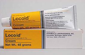 Hydrokortison salve som smøres på eksemen