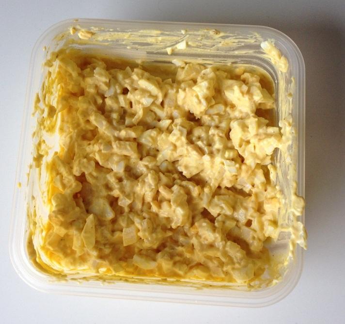 Hjemmelaget eggesalat. Foto: Lena Borge