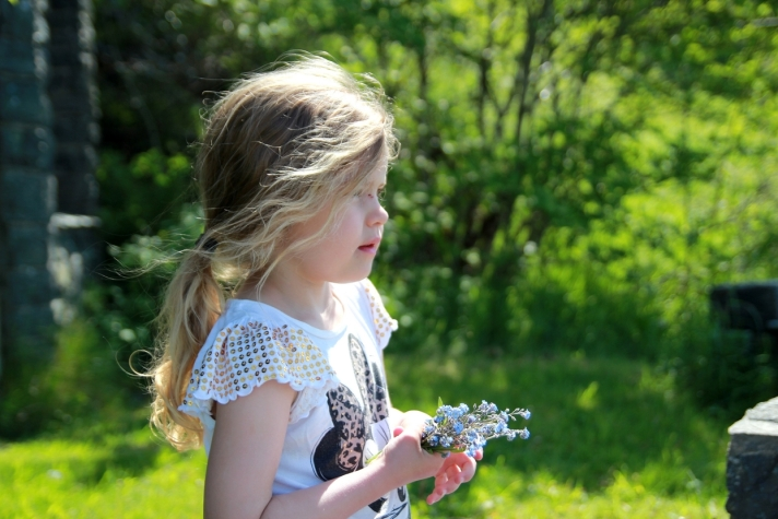 Jeg mener at selvfølelsen når barn vokser opp er avgjørende for hvilke valg de gjør videre i livet. Foto: Lena Borge
