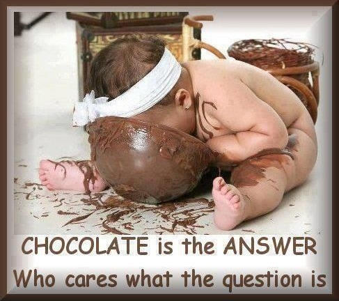 Sjokolade....